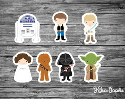 Aplique Star Wars 3,5 cm