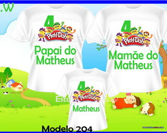 Camiseta Personalizada massinha play doh