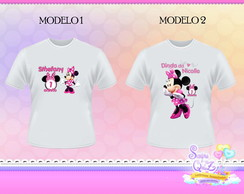 Camiseta MINNIE ROSA