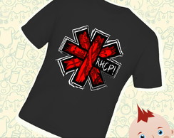 Camiseta Infantil Red Hot Chili Peppers