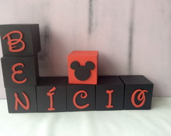 Cubos Decorativos Disney 6x6cm