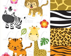 Kit Scrapbook Digital Animais - 1