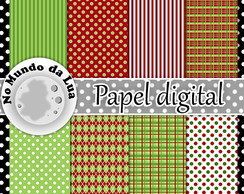 Papel digital - Natal Cod. 11
