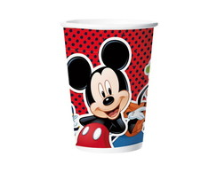 COPO PAPEL 180ml MICKEY c/ 8 unid.