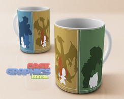 Caneca POKEMON TRIO EVOLUTION