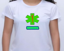 camiseta bay look curso medicina