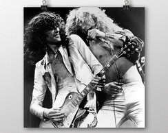 Pôster Page & Plant / Led Zeppelin