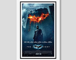Quadro Batman Dark Knight 60x40cm Filmes