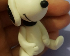 Lembrancinha do Snoopy em biscuit