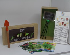 Kit Mini Horta