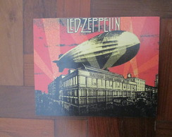 Placa MDF banda Led Zeppelin 9mm