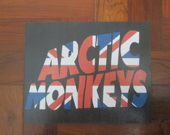 Placa MDF banda Arctic Monkeys 9mm