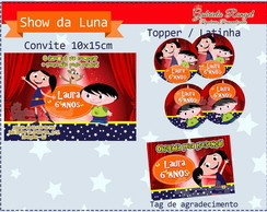 Kit digital Show da Luna