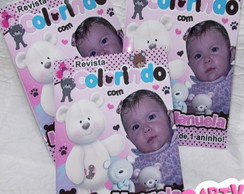 Revista de colorir Urso