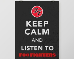 Quadro Listen to Foo Fighters