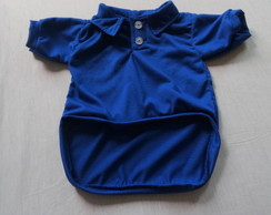 CAMISA POLO PET AZUL G e GG