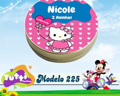 LATINHA HELLO KITTY - MODELO 225