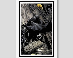 Quadro Batman Dark Knight Filme Comics