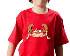 Camiseta Pokemon Krabby 2D