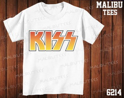 Camiseta Kiss banda rock cantor