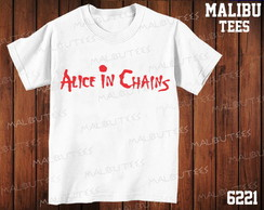 Camiseta Alice in Chains Rock banda