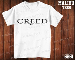 Camiseta Creed Rock n' Roll Banda Cantor