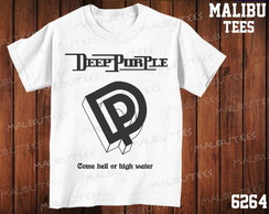 Camiseta Deep Purple Rock n' roll banda