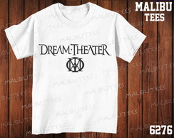Camiseta Dream Theater Rock n'roll Banda