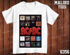 Camiseta AC/DC Rock N' Roll Banda