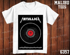Camiseta Metallica Rock N' Roll Banda