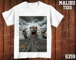 Camiseta Iron Maiden Rock N' Roll Banda