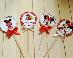 Toppers Para Doces Minnie