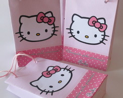 Sacolinha Grande, Hello Kitty 20Ax14Cx6L