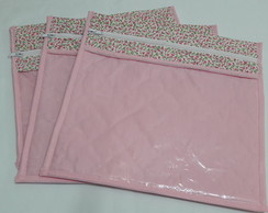 Kit de envelopes para maternidade rosa