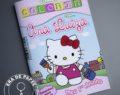 Revistinha para Colorir Hello Kit