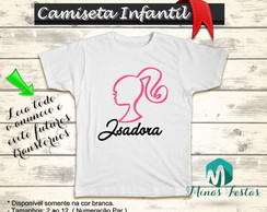 Camiseta Barbie Unisex