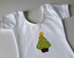 Body ou collant Cupcake Natal