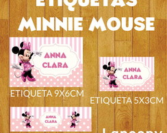 Kit etiquetas escolares Minnie