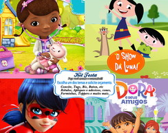 Arte Digital - Kits p/ Festa