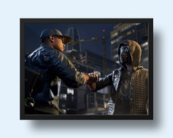Quadro Watch Dogs - Geek