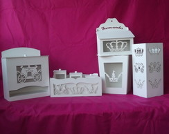 KIT HIGIENE PRINCESA 3D
