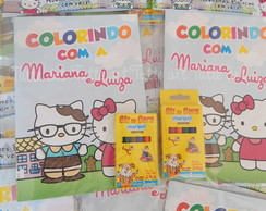 Kit de Colorir Hello Kitty