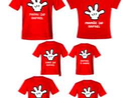 Camisetas para aniversario do Mickey 2