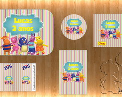Arte Kit Digital - Backyardigans 2