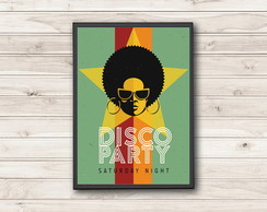 Pôster Disco Party