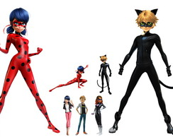 Kit Display Festa Infantil Miraculous