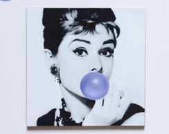 Placa decorativa - AUDREY - (MDF)