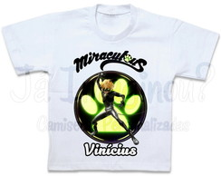 Camiseta Miraculous Cat Noir