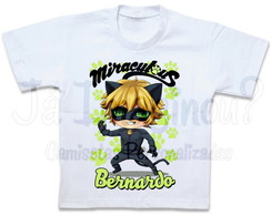 Camiseta Cat Noir cute