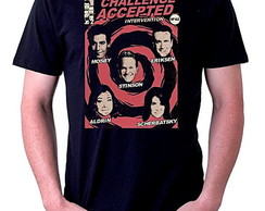 CAMISETA MASCULINA - CHALLENGE ACCEPTED